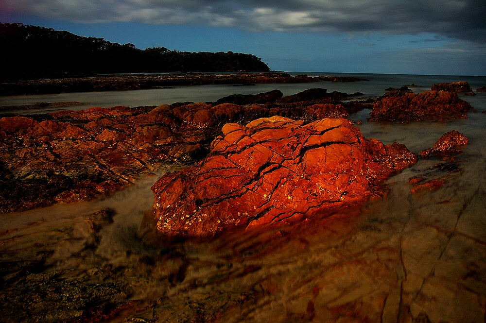 Red rock by matthew maguire