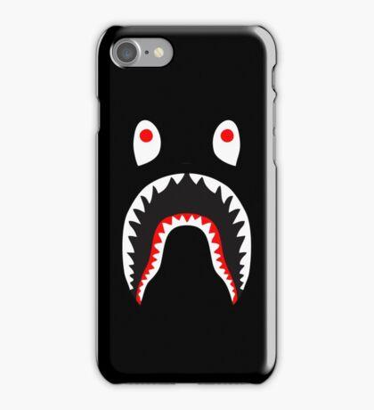 bape shark red iPhone Case/Skin