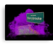Welcome to Storybrooke Canvas Print