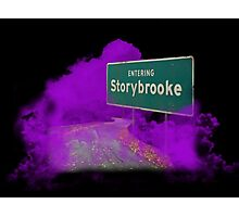 Welcome to Storybrooke Photographic Print