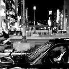 Osaka Taxi Driver by Simon Read