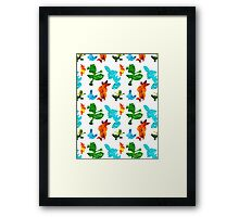 New Hoenn Starters // Pokemon ORAS Framed Print
