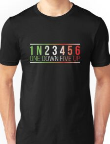 1N23456 One Down Five Up Unisex T-Shirt