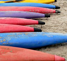 Kayaks by Shannon Mowling
