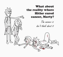 Rick and Morty kill themselves in black T-Shirt