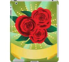 Red roses iPad Case/Skin