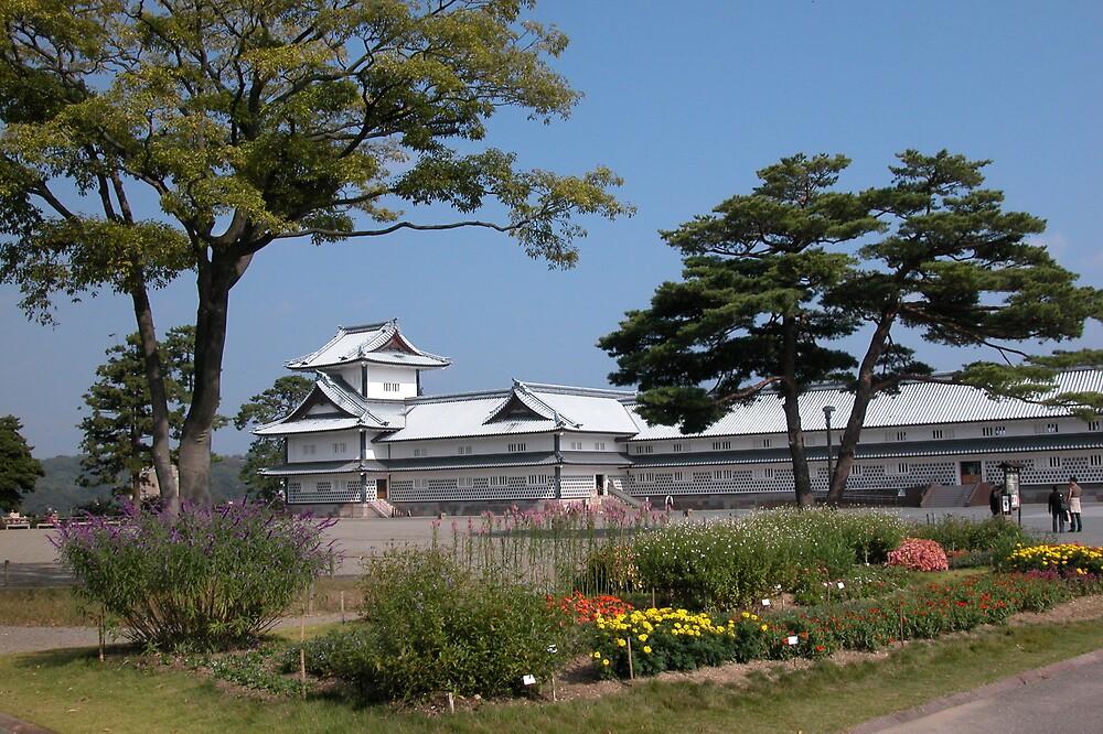 Kanasawa Castle by rodneyaf