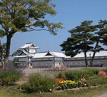 Kanasawa Castle by rodneyaf