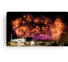 2006 Commonwealth Games Closing Ceremony Canvas Print
