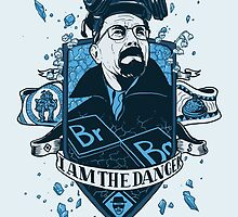 I am the Danger – Blue by Stirpel