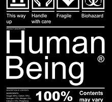 Human Being - Dark by papabuju