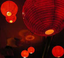 red lanterns by Ezizza