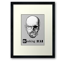 Breaking Dead Framed Print