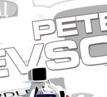 Peter Revson - F1 1973 Sticker