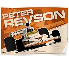 Peter Revson - F1 1973 Poster