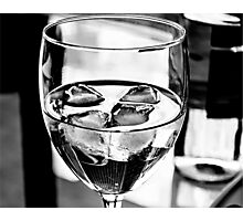 Fancy a sneaky wine? Photographic Print