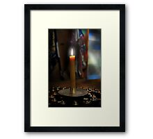 Total Eclipse of the Heart Framed Print