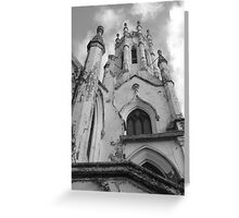 Decayed Building Greeting Card