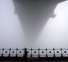 Fog under the harbour bridge  by jagphoto