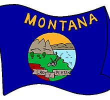 Montana State Flag by kwg2200