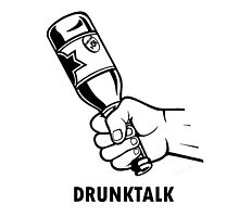 Drunk talk Photographic Print