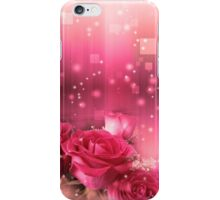 Roses in a Magic Light 2 iPhone Case/Skin
