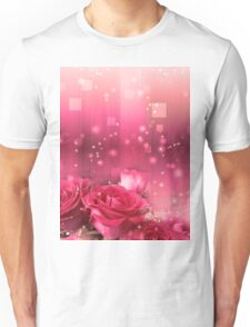 Roses in a Magic Light 2 Unisex T-Shirt