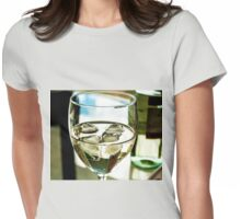 Glass of moscarto wine Womens Fitted T-Shirt