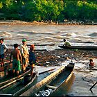 Fishing the Magdalena River - Honda, Colombia by Larry Costales