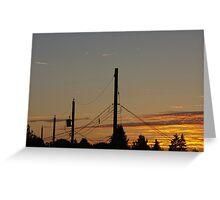 Kensington Sunset Series - 0150 Greeting Card