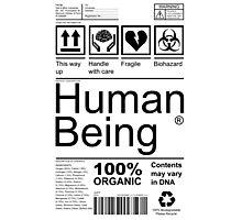 Human Being - Light Photographic Print