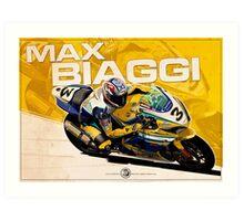 Max Biaggi - SBK 2007 Art Print