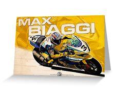 Max Biaggi - SBK 2007 Greeting Card