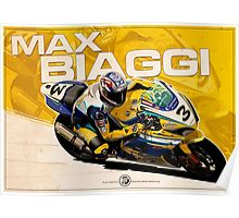 Max Biaggi - SBK 2007 Poster