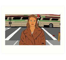 Margot Tenenbaum of The Royal Tenenbaums Art Print