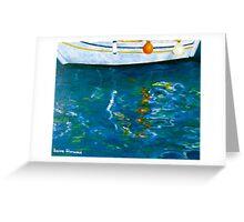 Greek Reflections Greeting Card