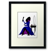 Queen Regina Framed Print
