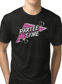 Official Dirty 30 - Partee Tyme Tee Tri-blend T-Shirt