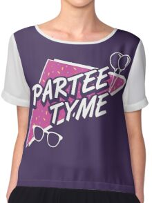 Official Dirty 30 - Partee Tyme Tee Chiffon Top