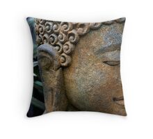 serenity now Throw Pillow