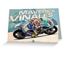 Maverick Vinales - Moto3 2013 Greeting Card