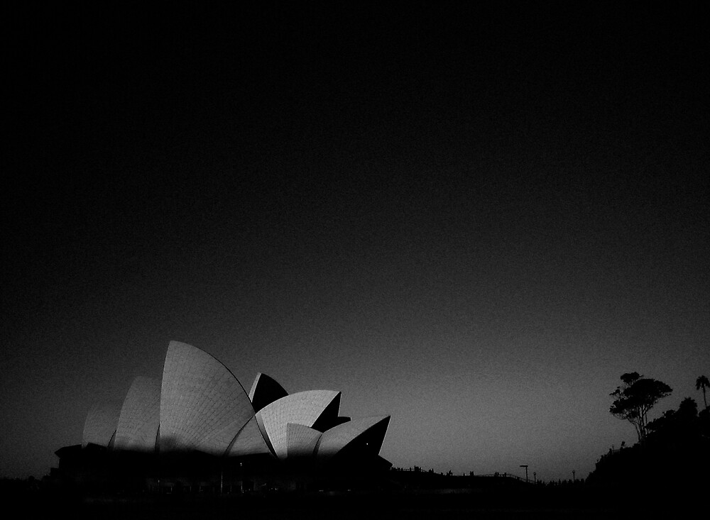 Opera House at Sunset by photographerpundit