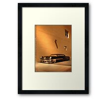 Chopped Mercury Framed Print