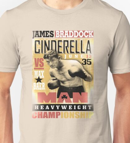 JAMES BRADDOCK Unisex T-Shirt