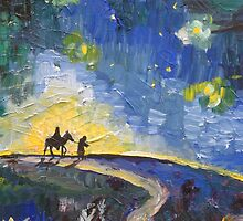 The Road to Bethlehem by Sue Hodge
