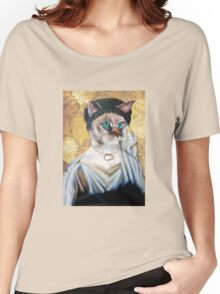 Greek Lady Cat Women's Relaxed Fit T-Shirt