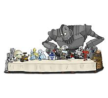 The Last Robot Supper Photographic Print