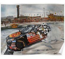 NASCAR Martin Truex Jr  Poster