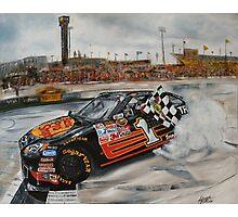NASCAR Martin Truex Jr  Photographic Print