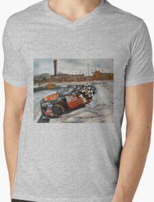 NASCAR Martin Truex Jr  Mens V-Neck T-Shirt